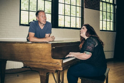 Mary Lambert singing with John Keatley.