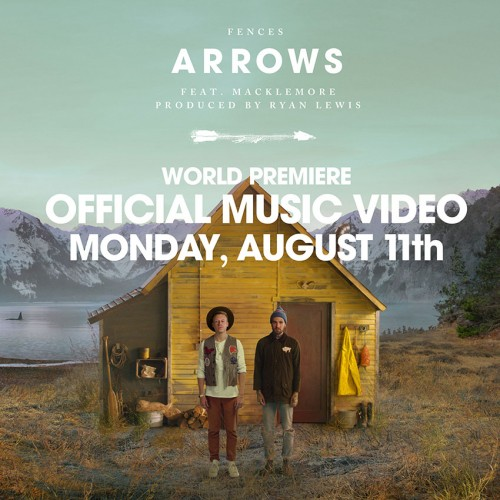 Arrows Music Video poster by John Keatley and Jason Koenig.